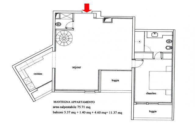 Mantegna appartement 2 pi ces monaco for Chambre 121 pdf