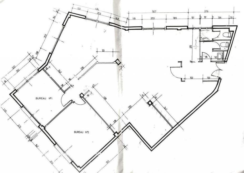 grand bureau appartement 4 pi ces monaco. Black Bedroom Furniture Sets. Home Design Ideas