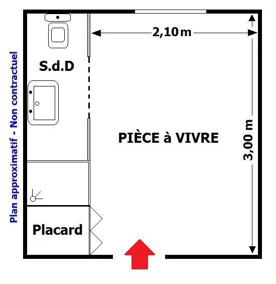 Chambre de service avenue d 39 ostende chambre de bonne monaco for Chambre de service