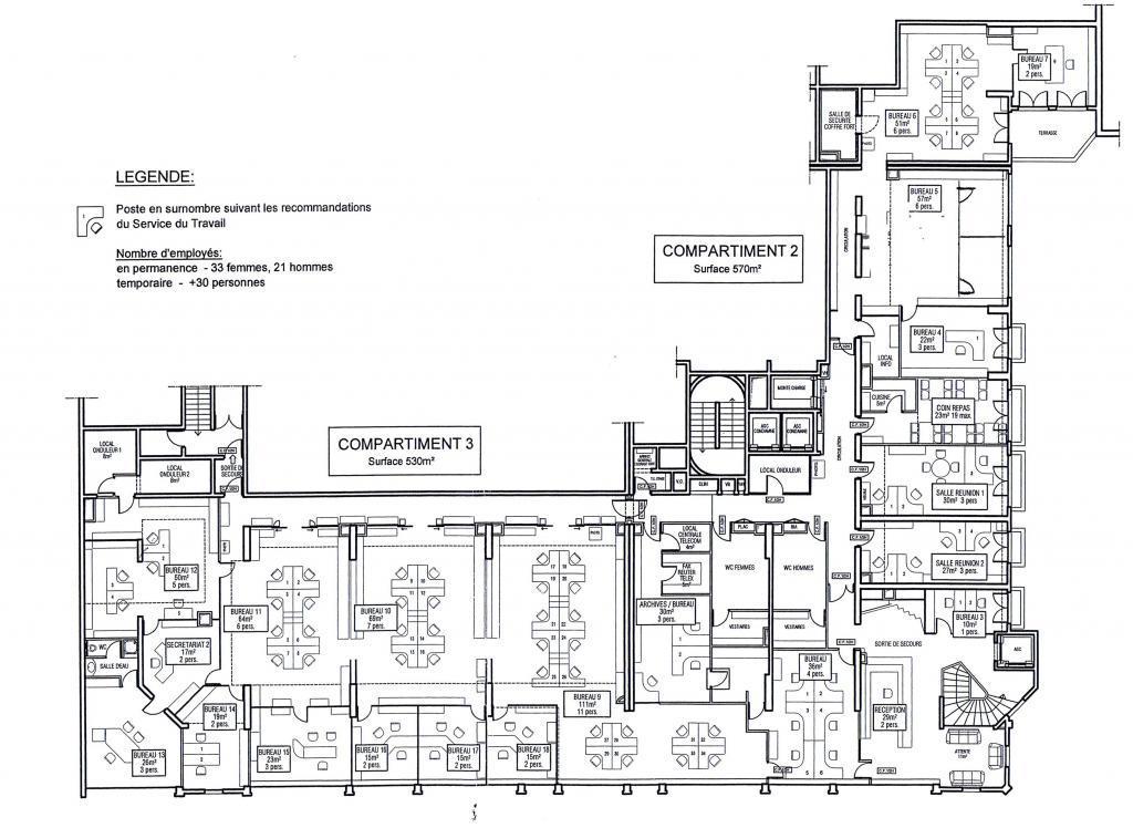 rarissime le metropole 1800 m de bureaux bureau 5 pi ces monaco. Black Bedroom Furniture Sets. Home Design Ideas