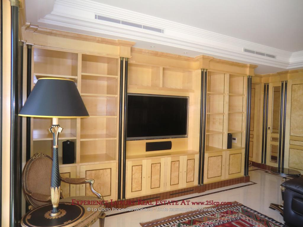 monte carlo bel appartement meubl appartement 4 pi ces monaco. Black Bedroom Furniture Sets. Home Design Ideas