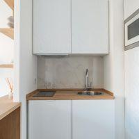 Studio entièrement rénové situé dans une résidence sécurisée avec concierge