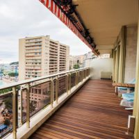 Le Vallespir: 2 Bedroom Apartment Entirely Refurbished with Sea View and Parking Space