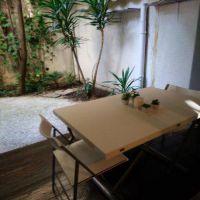 Jardin Exotique - Rare studio avec jardin