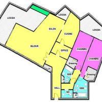 PATIO PALACE : 3 APPARTEMENTS CONTIGUS