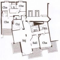 Magnificent 6 rooms - terraces of the PARC ST ROMAN