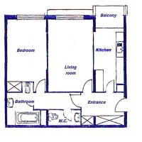 Charming 2 ROOM Apartment - Bd d'Italie/Larvotto - Double use - Parking