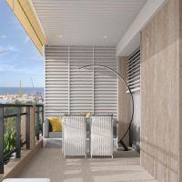 2 ROOMS - Sea view - Avenue PRINCESSE GRACE