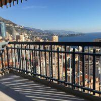 Monaco - large 1 bedroom with sea view
