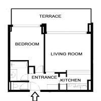 LARVOTTO - 2 room apartment - Sea view