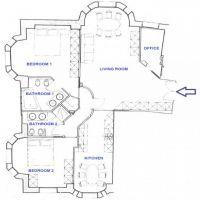 BOULEVARD DES MOULINS - 3 Pièces - 140 m²