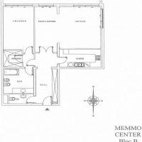 MEMMO CENTER - 2 Pièces - Cave et Parking