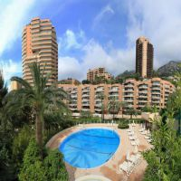The Monte Carlo Sun - Large studio with garden views