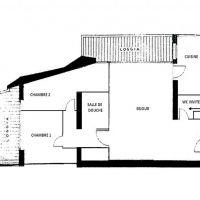 Appartement rénové dans le centre