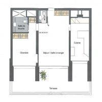 Superb 2 room apartment, prestigious residence