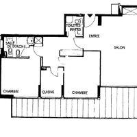 Vallespir, 3 room