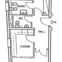 2P Condamine résidence récente avec concierge