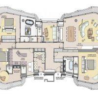 Luxueux appartement de 3 chambres - ONE MONTE CARLO - étage entier
