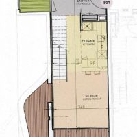 Duplex 1 bedroom - Le Stella - parking