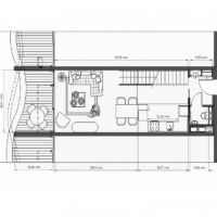 2 pièces en duplex immeuble neuf - Le Stella - vue mer