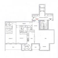 New real estate project - Central - Large 3 rooms with cellar and parking