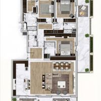Reserve - Grand luxurious 4 rooms