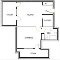 Golden Square - One bedroom- beautiful surfaces