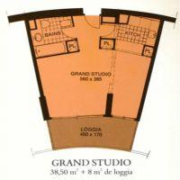 Grande Studio - Annonciade - Vicino spiagge E negozi del Larvotto - Uso misto
