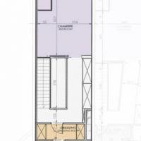 Duplex aux étages élevés au Stella