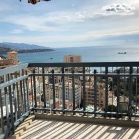 MONTE CARLO AREA - MILLEFIORI - 1 BEDROOM APARTMENT - PANORAMIC SEA VIEW