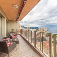 SOLE AGENT - RIVIERA PALACE - 3 BEDROOM APARTMENT - SEA VIEW AND CASINO