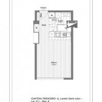 LA ROUSSE AREA - CHATEAU PERIGORD I - STUDIO RENOVATED