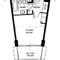 LA ROUSSE - ANNONCIADE - STUDIO - HIGH FLOOR