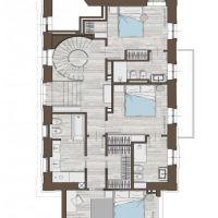 Appartement-villa entièrement rénové et meublé