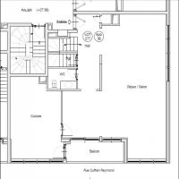 4 pièces en Duplex - Quartier de la Condamine