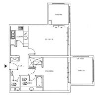 1-bedroom apartment in perfect condition