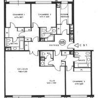 Roc Fleuri - 4 rooms for rent