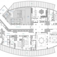 Magnifique appartement de la Tour Odeon