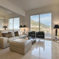 NEW! Jardin Exotique, 4 rooms, sea view, furnished