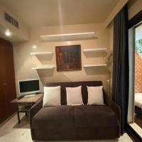 Monaco / Furnished studio flat with terrace and garden