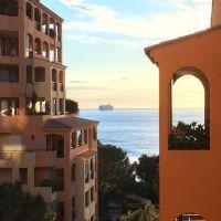 Monaco/ Spacieux 3 pièces vue mer et roseraie