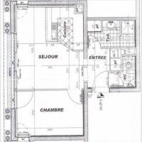 Seasonal rental / large 2 room apartment with parking