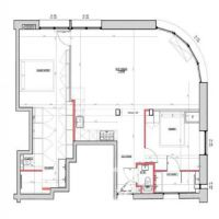 Monaco / Roqueville / appartamento di 3 stanze