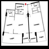 2 BEDROOMS CHATEAU PERIGORD I