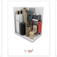 Secure storage spaces