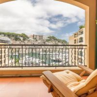 4 roomed apartment in Fontvieille - View on the port of Fontvieille and Rock