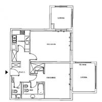 1 bedroom apartment - Memmo Center
