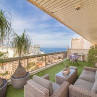 2 large apartments to be joined in Jardin Exotique District