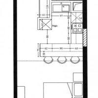 Studio apartment in Fontvieille-Le Cimabue
