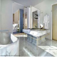 Luxurious 2 Bedroom apartment occupies the entire floor